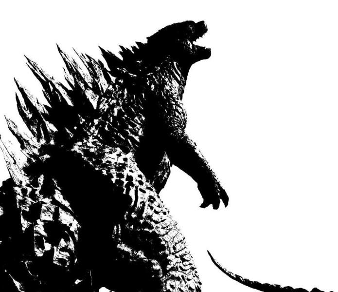 Black-and-White-Godzilla-2014-Poster