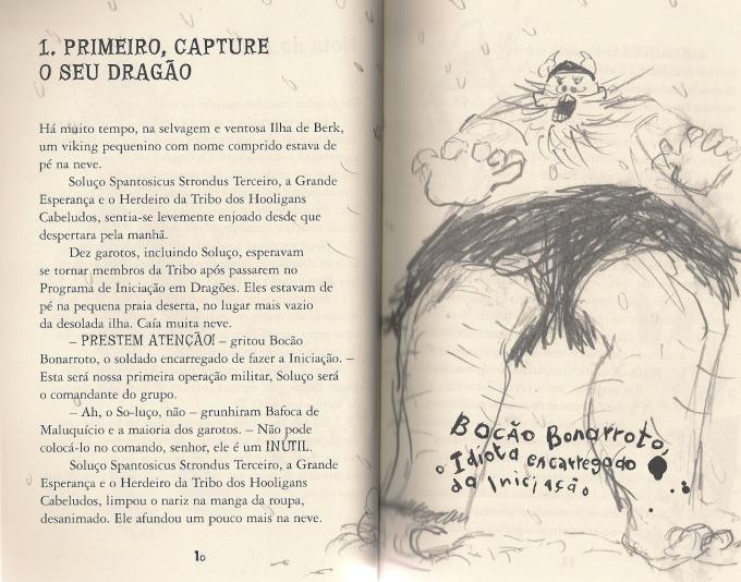 Primeira página do livro