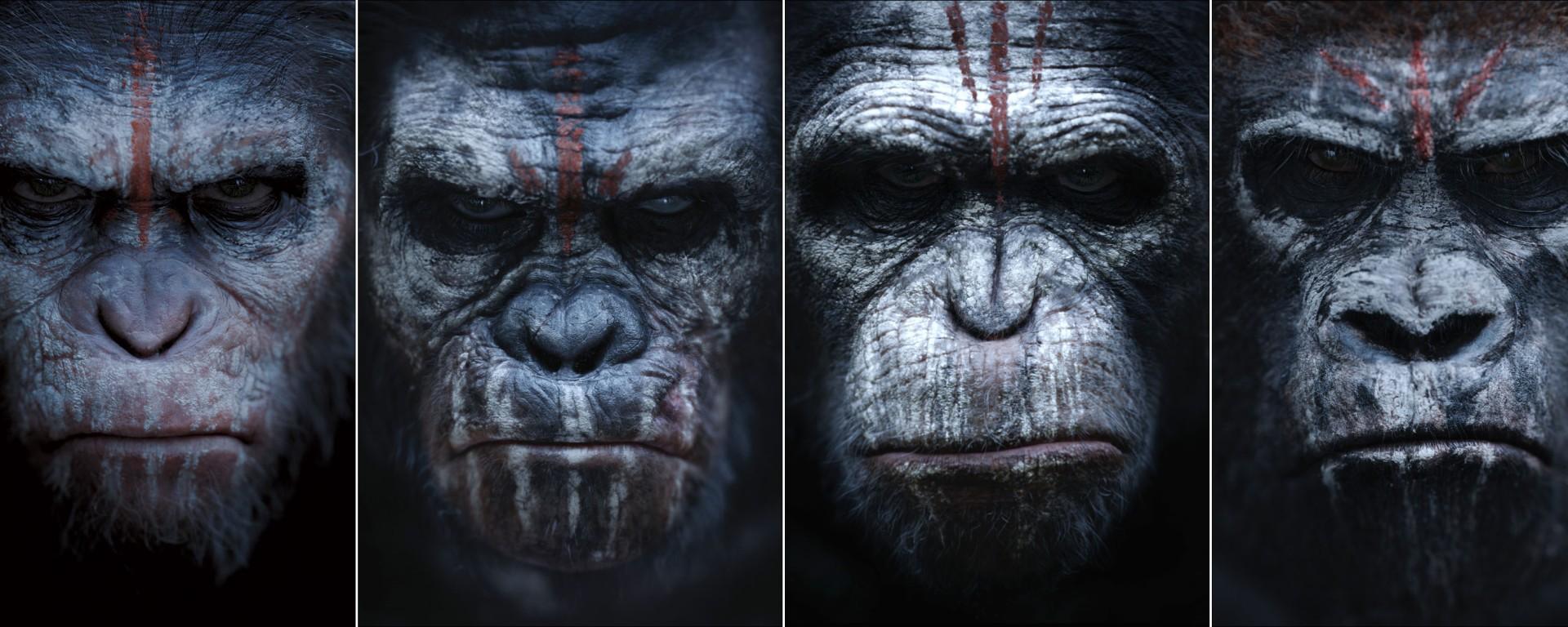 Resultado de imagem para planeta dos macacos o confronto