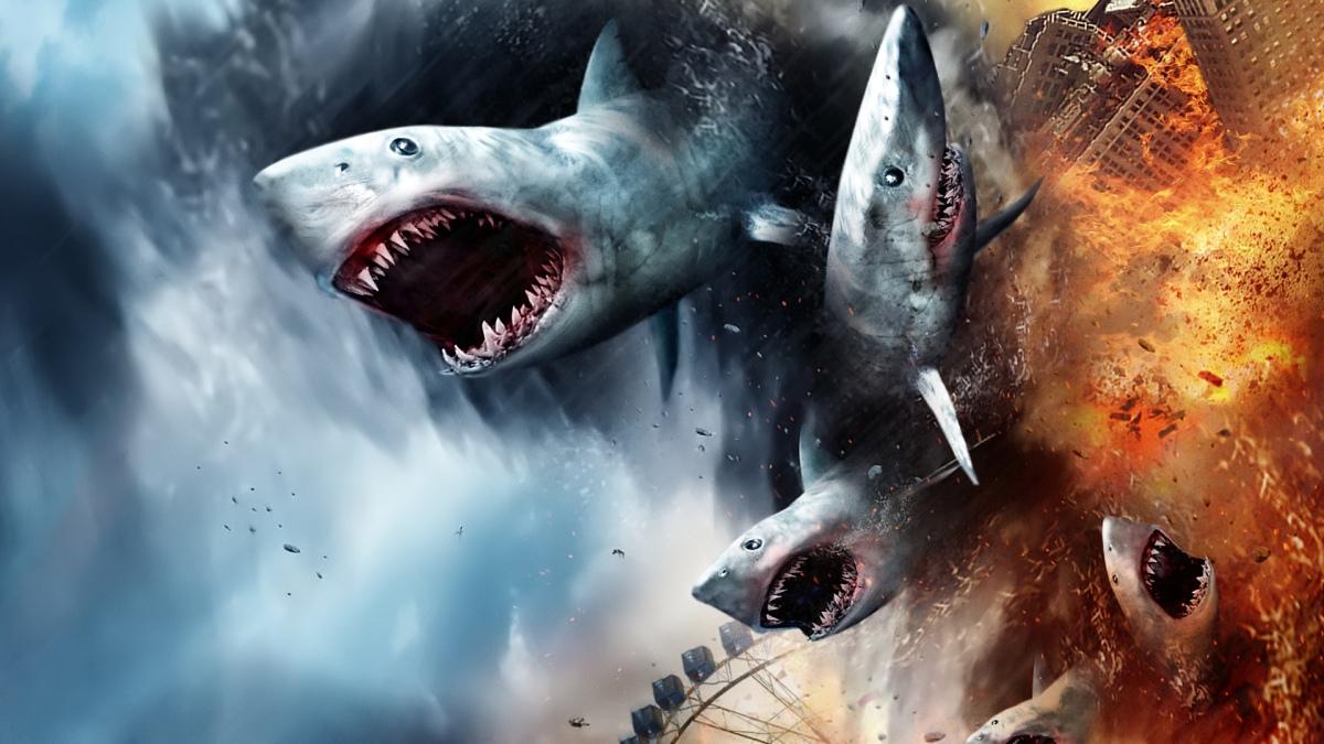 """[FORA DE SÉRIE] O """"Fenômeno"""" Sharknado"""