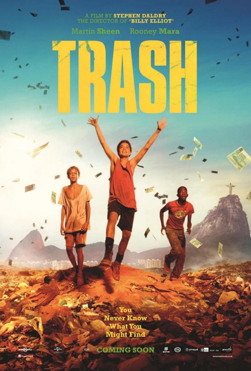 [REVIEW] Trash – A Esperança vem do Lixo