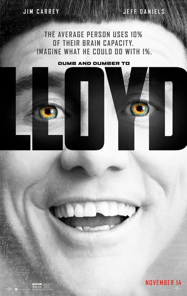 O poster parodiando 'Lucy' é, sem dúvidas, um dos mais criativos deste ano
