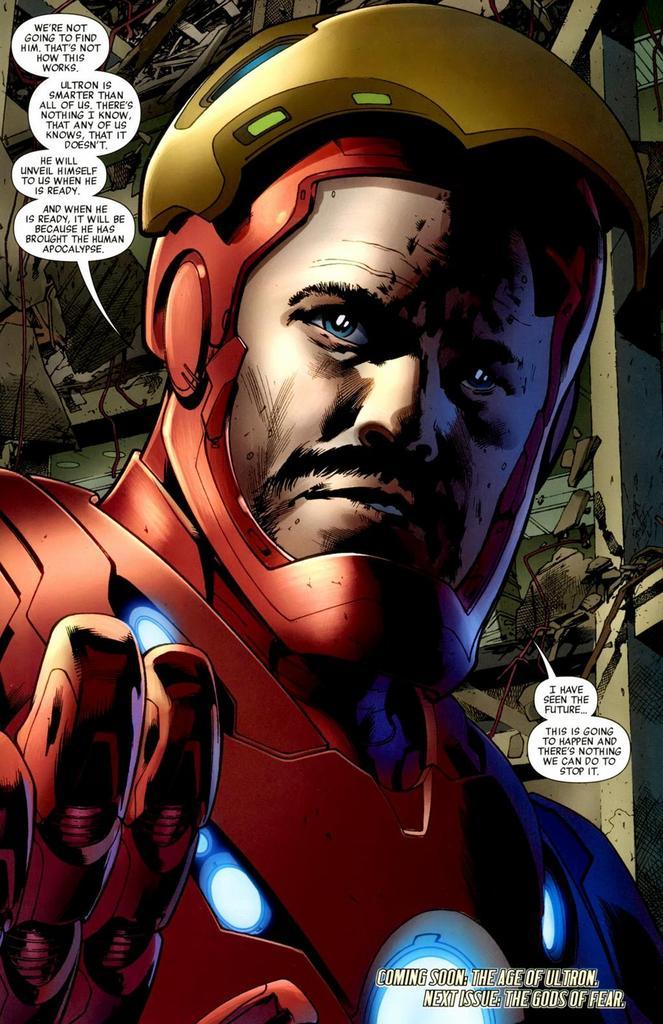Perceba como ele dá medo para os heróis