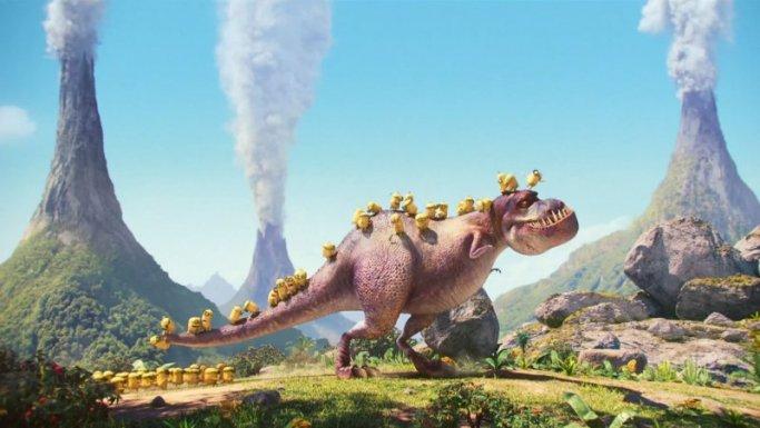 Minions e Jurassic Park? Eu certamente assistiria!